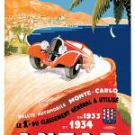 """Vintage Classic Automotive Poster #27"" by ArtLoversOnline"