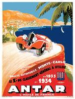 Vintage Classic Automotive Poster #27