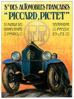 Vintage Classic Automotive Poster #31