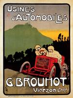Vintage Classic Automotive Poster #33