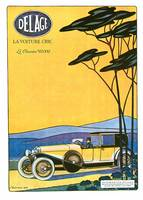 Vintage Classic Automotive Poster #41