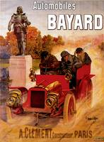 Vintage Classic Automotive Poster #48