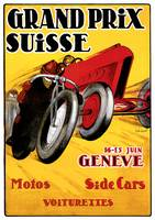 Vintage Classic Automotive Poster #51