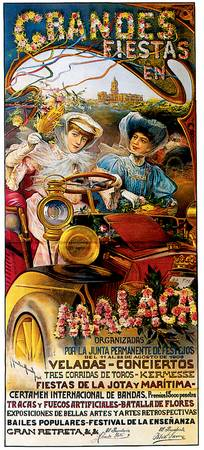 Vintage Classic Automotive Poster #69