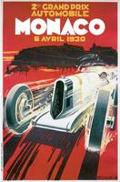 Vintage Classic Automotive Poster #65