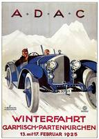 Vintage Classic Automotive Poster #68