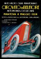 Vintage Classic Automotive Poster #75