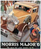 Vintage Classic Automotive Poster #77