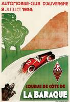 Vintage Classic Automotive Poster #86