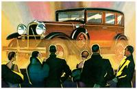 Vintage Classic Automotive Poster #84