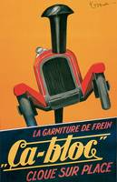 Vintage Classic Automotive Poster #89