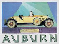 Vintage Classic Automotive Poster #91