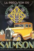 Vintage Classic Automotive Poster #94