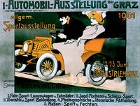 Vintage Classic Automotive Poster #109