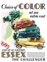 Vintage Classic Automotive Poster #121
