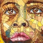 """Close African face"" by ArtbyRobertMahosky"