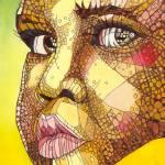 """""""Rwandan Face"""" by ArtbyRobertMahosky"""