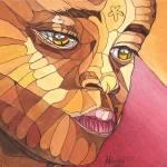 """""""African Face 2"""" by ArtbyRobertMahosky"""