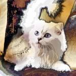 """The Jazz Cat"" by AnneVis"