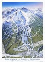 Blackcomb, 1993 Trail map Image