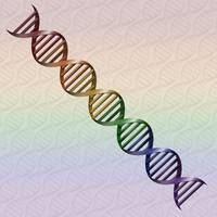 Rainbow DNA - LGBT Pride
