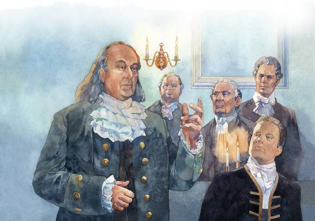 the albany congress and benjamin franklin s The albany congress was a gathering that took place in albany but the meeting is now remembered for a plan that benjamin franklin presented to unite the.