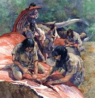 Women Butchering Mastodon