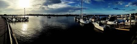 Red Bank Marina Pano