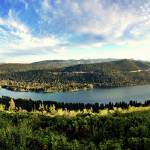 """Donner Lake Pano"" by BMoorePhotography"