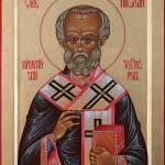 """St. Nicholas of Myra"" by aschelechow"