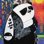 """Panda Zen Master"" by ArtPrints"