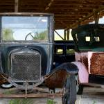 """Together Again Model T Fords"" by BrendaSalyersArt"