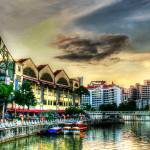 """Clarke Quay Color - Fantastic City Singapore Serie"" by sghomedeco"