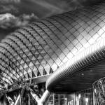 """Esplanade Theater B/W - Fantastic City Singapore S"" by sghomedeco"