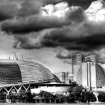 """Esplanade and Sky - Fantastic City Singapore Serie"" by sghomedeco"