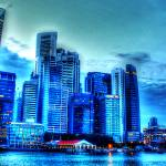 """CITYSCAPE COLOR - Fantastic City Singapore Series"" by sghomedeco"