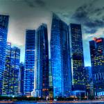 """CITY IN COLOR - Fantastic City Singapore Series"" by sghomedeco"