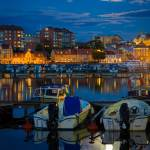 """Moonrise in Karlskrona"" by Inge-Johnsson"