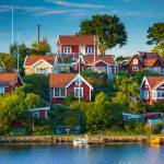 """Brändaholm Cottages"" by Inge-Johnsson"