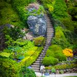 """Butchart Gardens Stairs"" by Inge-Johnsson"