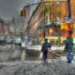 """""""Corner of Montague & Henry Abstract"""" by jeffwatts"""