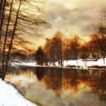 """Winter Sunset"" by JessicaJenney"