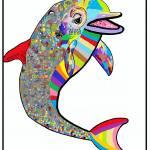 """""""Dolphin"""" by EloiseArt"""