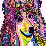 """Picture Perfect Poodle"" by EloiseArt"