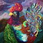 """""""Rooster on the Horizon"""" by EloiseArt"""
