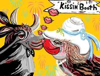 COW KISSING BOOTH