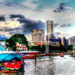 """The Color of Clarke Quay - City Singapore 2013"" by sghomedeco"