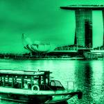 """Vintage Tone Series - Fantastic City Singapore , M"" by sghomedeco"