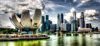 Fantastic  City Singapore - Cityscape Skyline