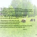 """Psalm 23 The Lord Is My Shepherd"" by susansartgallery"